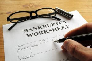 Bankruptcy Worksheet   Steiner Law Group